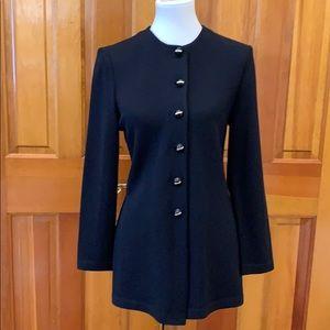 St. John Collection Classic Black Jacket